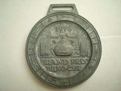 Formule - GRAND PRIX - BRNO 1976 - AUTA - MEDAILE