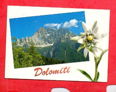 DOLOMITY  - Monte Civetta 3218m -  Itálie # POHLEDNICE