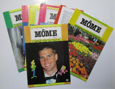 Časopisy s výukou francouzštiny Môme