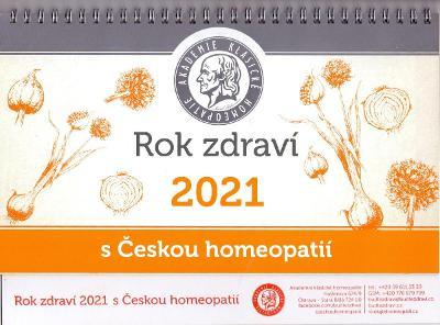 ROK ZDRAVÍ S ČESKOU HOMEOPATIÍ #  kalendář 2021
