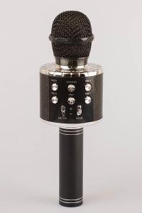 Karaoke bezdrátový mikrofon s reproduktorem/ SD, jack/ Od 1Kč!