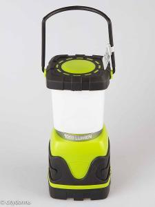 Kempingová lucerna Homever LE/ 1000 lumenů/ Od 1Kč