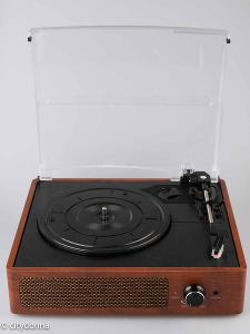 Gramofon Kedok M49A/ vintage design/ bluetooth/ reproduktor/ Od 1Kč