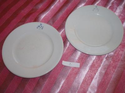 2 talíře z pozůstalosti -2