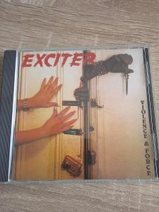CD EXCITER-VIOLENCE AND FORCE 1989