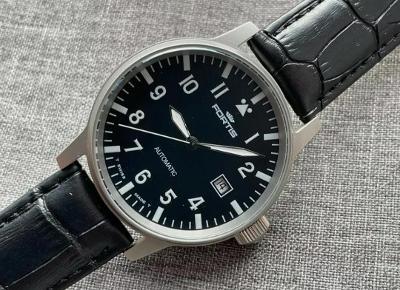 Luxusní nádherné hodinky FORTIS FLIEGER 25 JEWELS AUTOMATIC od 1 Kč