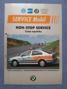 Prospekt Škoda Auto zásahové vozidlo ŠKODA FELICIE II I A OCTAVIA I