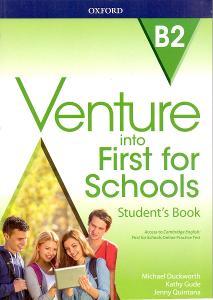 VENTURE INTO FIRST FOR SCHOOLS - výuka angličtiny # student´s  book