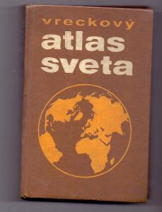 ATLAS SVĚTA SLOVENSKÉ kapesní vydání # 1984