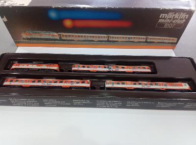 Marklin mini-club 8107 Z DB BR  218 145-1