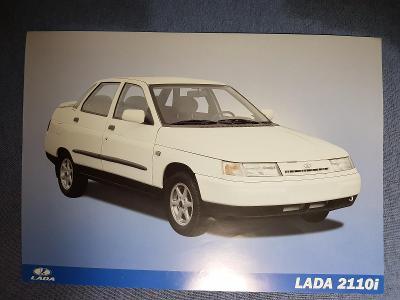 Prospekt LADA 2110i - první vydání