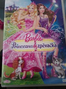 Barbie Princezna a zpěvačka. Originál DVD