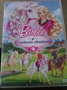 Barbie poníková akademie. Originál DVD
