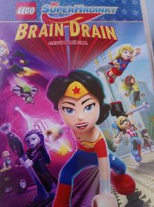 Lego DC Superhrdinky Brain Drain original DVD