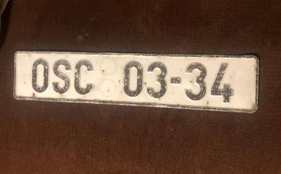 Stará SPZ OSC