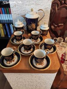 Luxusní porcelánová sada značeno  Epiag