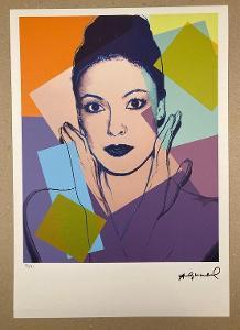 ANDY WARHOL * KAREN KAIN 1980 * 95/125 * ©Andy Warhol