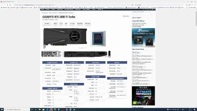 Gigabyte RTX 2080Ti Turbo 11GB