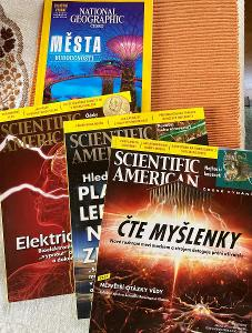 Scientific American a National Geographics