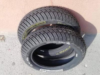 Pneu Michelin nové skútr R12 mokré sada 2 ks