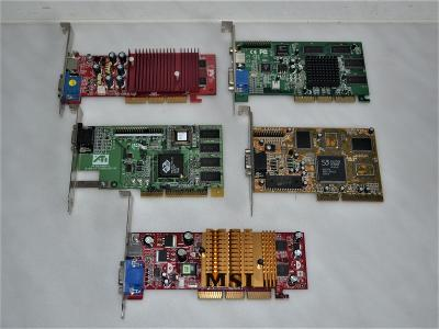 5x grafická karta AGP (4)