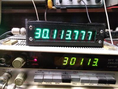 Čítač do 60 Mhz. typ: G-2001.500 (NDR)