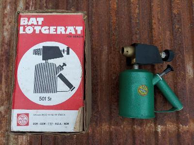 Benzínová letlampa Bat Lötgerät 501 St