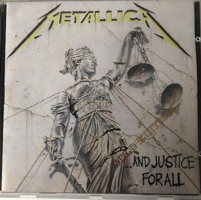 Metallica - ...And Justice For All (CD limited gold edition)