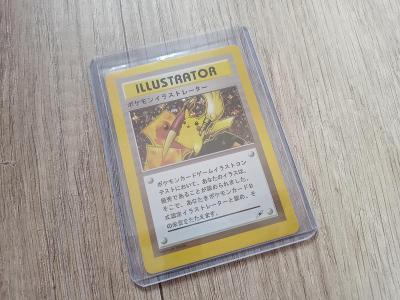 Pokemon Pikachu ILLUSTRATOR CoroCoro contest Holo Card