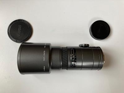 objektiv SIGMA AF Tele 1:5.6 f=400mm A-mount (Sony)