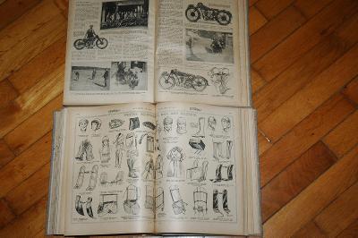 THE MOTOR CYCLE - 1926 - MOTORKA VETERÁN - 2070 STRAN