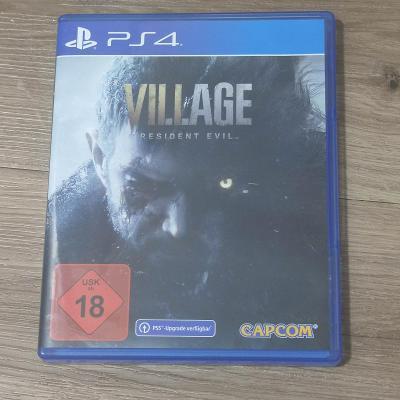 3 x hra PS4 .   Resident evil village , Ghost Recon , Crash bandicoot