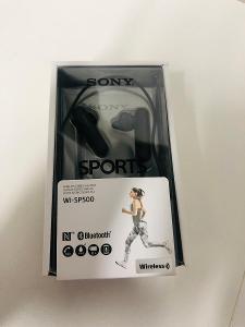 Bezdrátová sportovní sluchátka Sony