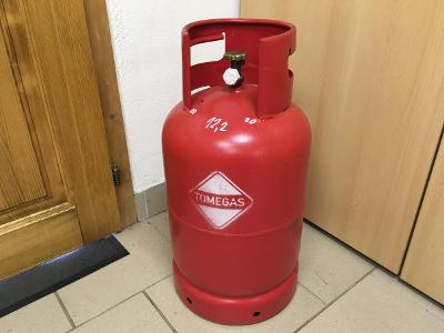 Plynová bomba 10 kg, klasická, vhodná do karavanu, grilu nebo rezervní