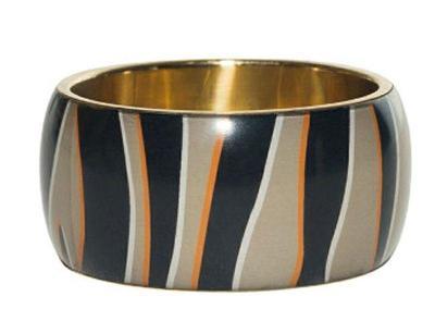 DESIGUAL puls_Zebra luxusní náramek/ ONE SIZE 1,-