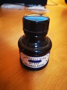 (79) Historická nová modrá razítková barva - nevyschlá - 50 ml