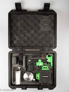 Laser samonivelační Kraumi /3 osy/ IP54/s příslušen./kufřík/ Od 1Kč!