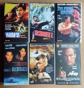 6 x originál VHS v češtině
