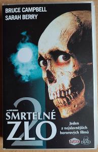 Smrtelné zlo - horor, originál VHS
