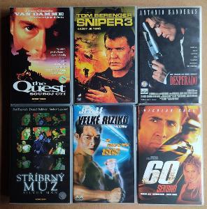 6 x original VHS v češtině