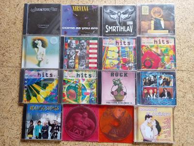 16 CD (WANASTOWI VJECY, LANDA, ENYA, NIRVANA, ROLLING STONES...)