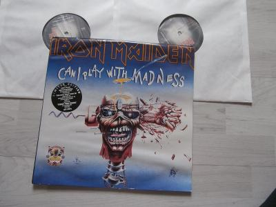 2x LP MAXI SINGLE - IRON MAIDEN - CAN I PLAY WITH MADNESS, THE EVIL..