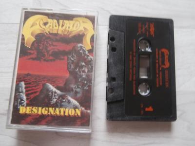 1X MC KAZETA GLADIATOR - DESIGNATION (1990) (ZERAS)