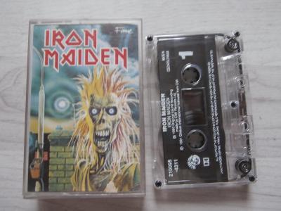 1X MC KAZETA IRON MAIDEN  (1990) (GLOBUS)