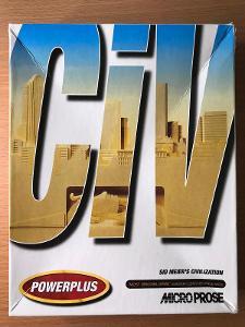 PC Hra Sid Meier's Civilization  – BIG BOX retro 1991 – od koruny