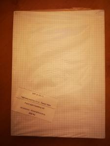 (95) Balení 200 ks papírů A3 čtverečkovaných - nové
