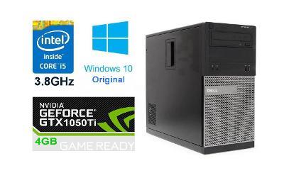 Herní PC Dell - GTX 1050Ti 4GB/Core i5 3.8GHz/Windows 10; LED monitor
