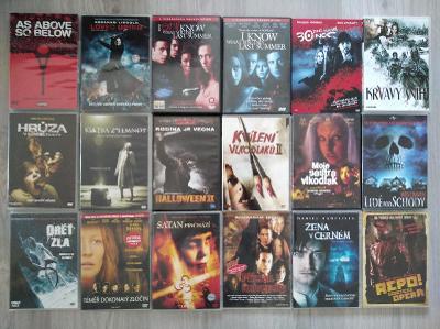 Horrory - 81x DVD