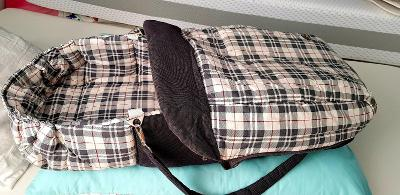 Přenosná taška, možno i do kočárku, nebo jako fusak