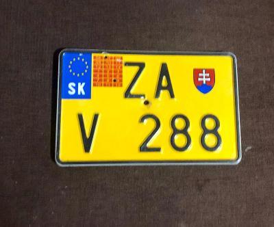 Stará slovenska SPZ